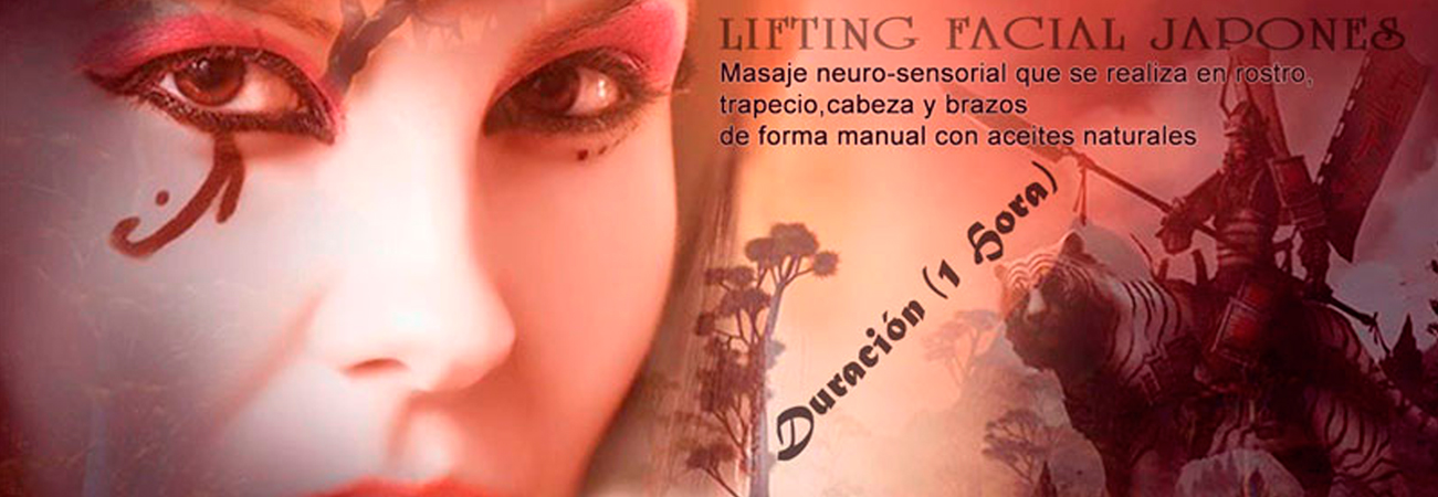 Lifting facial japones